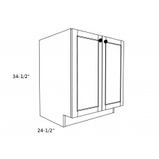 "SB36FH----36"" wide Sink Base 2 Door Cabinet"