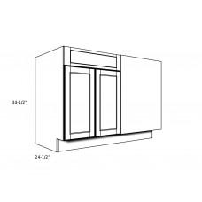 """B48BR----48"""" wide Blind Corner Base RH Cabinet"""