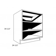 "OB1230----12"" wide Open Base Cabinet"
