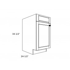 "SB21----21"" wide Sink Base 1 Door Cabinet"