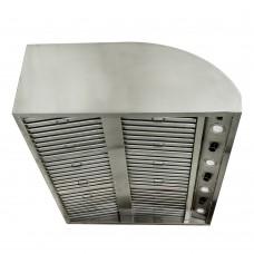 Blaze 42-Inch Stainless Steel Outdoor Vent Hood - 2000 CFM - BLZ-42-VHOOD