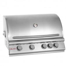 Blaze 32 Inch 4-Burner Gas Grill With Rear Burner BLZ-4LTE2