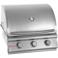 Blaze 25-Inch 3-Burner Built-In Gas Grill - BLZ-3LBM