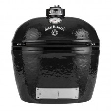 Primo Jack Daniels Edition Oval XL 400 Ceramic Kamado Grill With Stainless Steel Grates - 900
