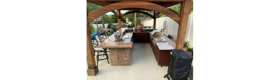 Outdoor kitchen 13