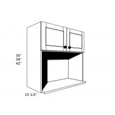 "MW3030----30"" wide 30"" high Microwave Shelf"
