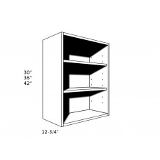 "OW2130----21"" wide 30"" high Open Wall Cabinet"