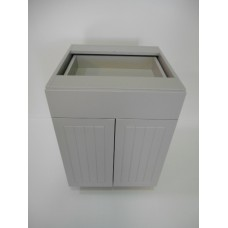 "POLY-B30D1----30"" wide Base 2 Doors 1 Drawer Cabinet"