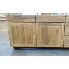 "TEAK-B33----33"" wide Base 2 Doors 2 Drawer Cabinet"