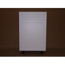"POLY-B18D1----18"" wide Base 1 Door 1 Drawer Cabinet"