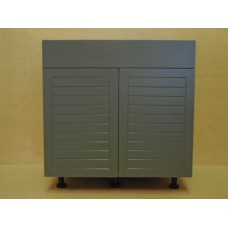 "POLY-SB36----36"" wide Sink Base 2 Door Cabinet"