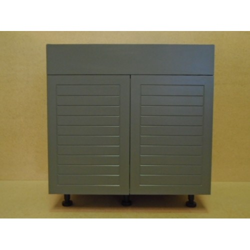 "Outdoor Kitchen Cabinets Polymer: POLY-SB36----36"" Wide Sink Base 2 Door Cabinet"