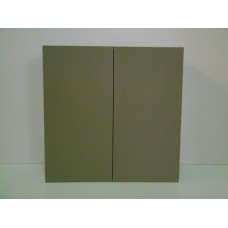 "POLY-W3315----33"" wide 15"" high 2 doors Wall Cabinet"