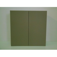 "POLY-W3624----36"" wide 24""high - 2 Doors Wall Cabinet"