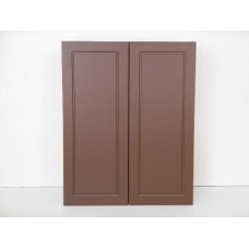 "POLY-W3942----39"" wide 42"" high 2 doors Wall Cabinet"