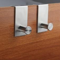 Stainless Steel Hooks-2 pack-Door Hung