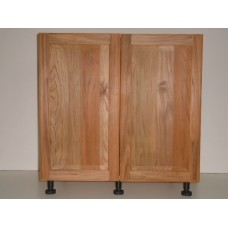 "TEAK-B24FH----24"" wide Base 2 Doors Cabinet"